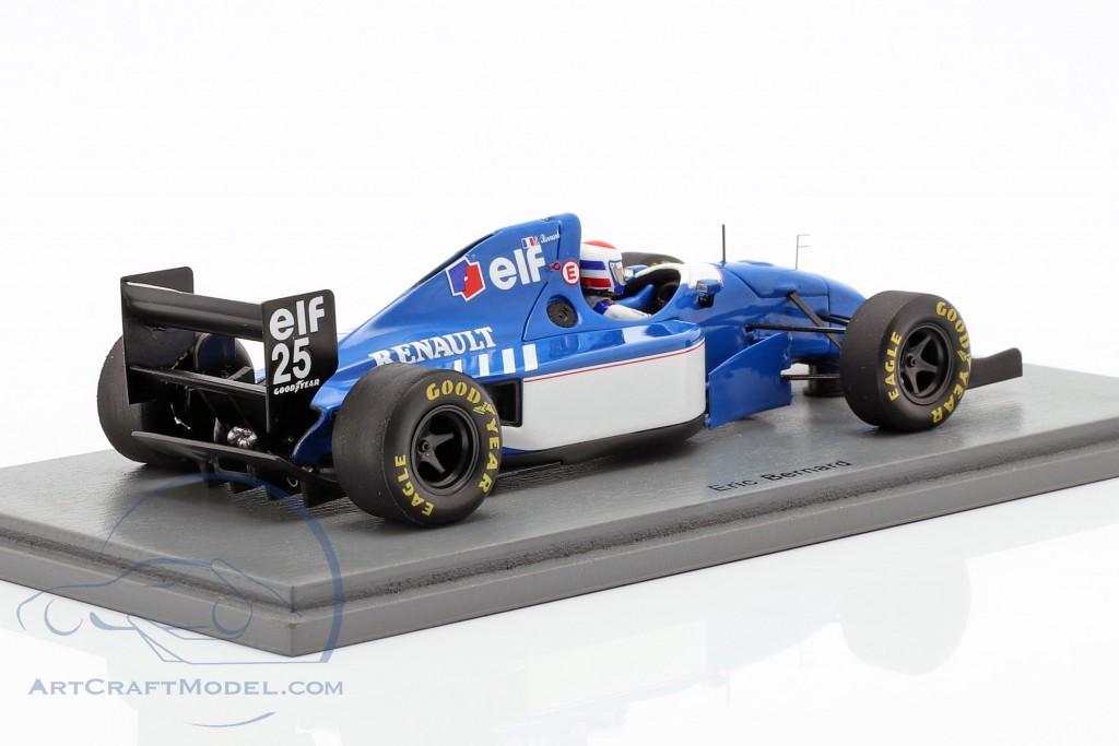 Eric Bernard Ligier JS39B #25 French GP formula 1 1994