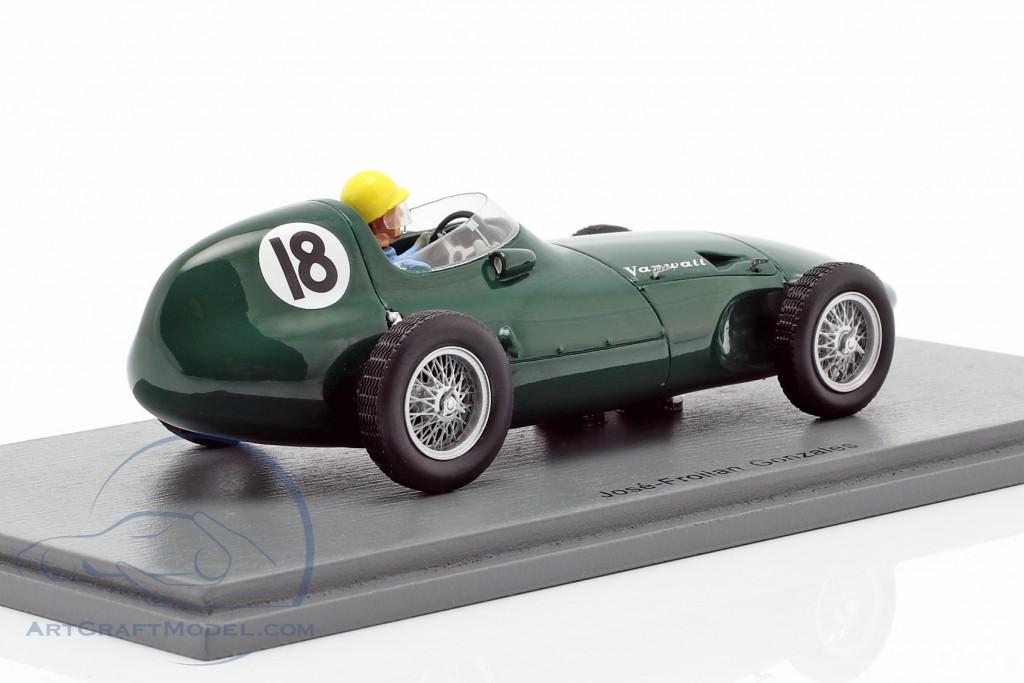 Jose Froilan Gonzalez Vanwall VW2 #18 British GP formula 1 1956