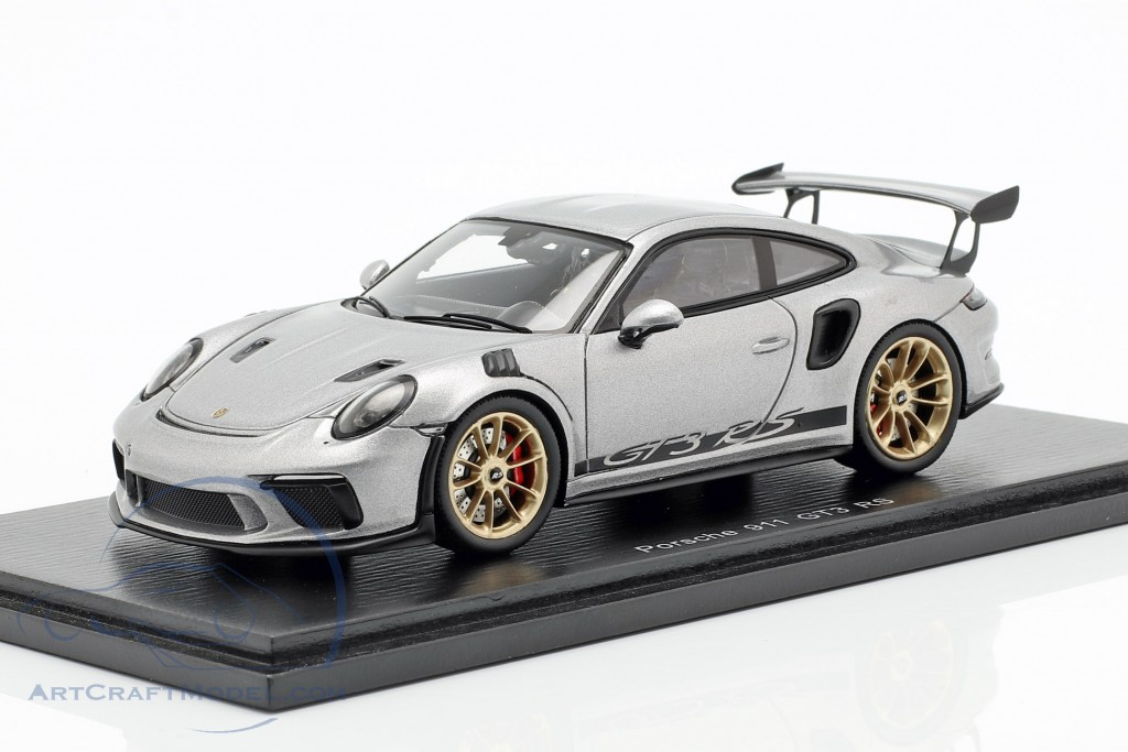 Porsche 911 (991 II) GT3 RS year 2018 silver metallic