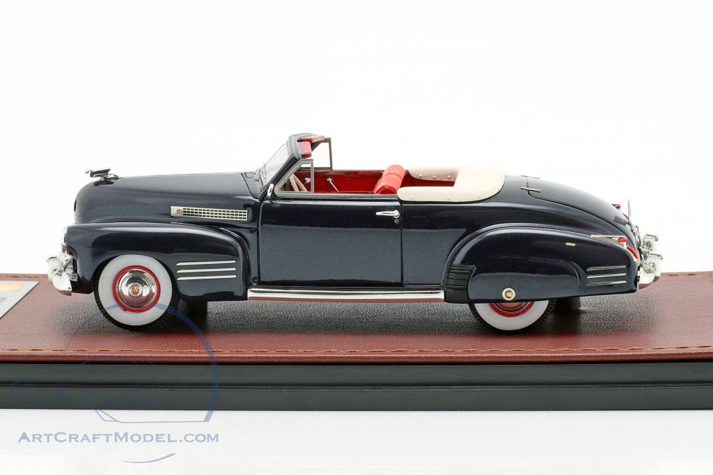 Cadillac Series 62 Convertible Open Top year 1941 dark blue  GLM