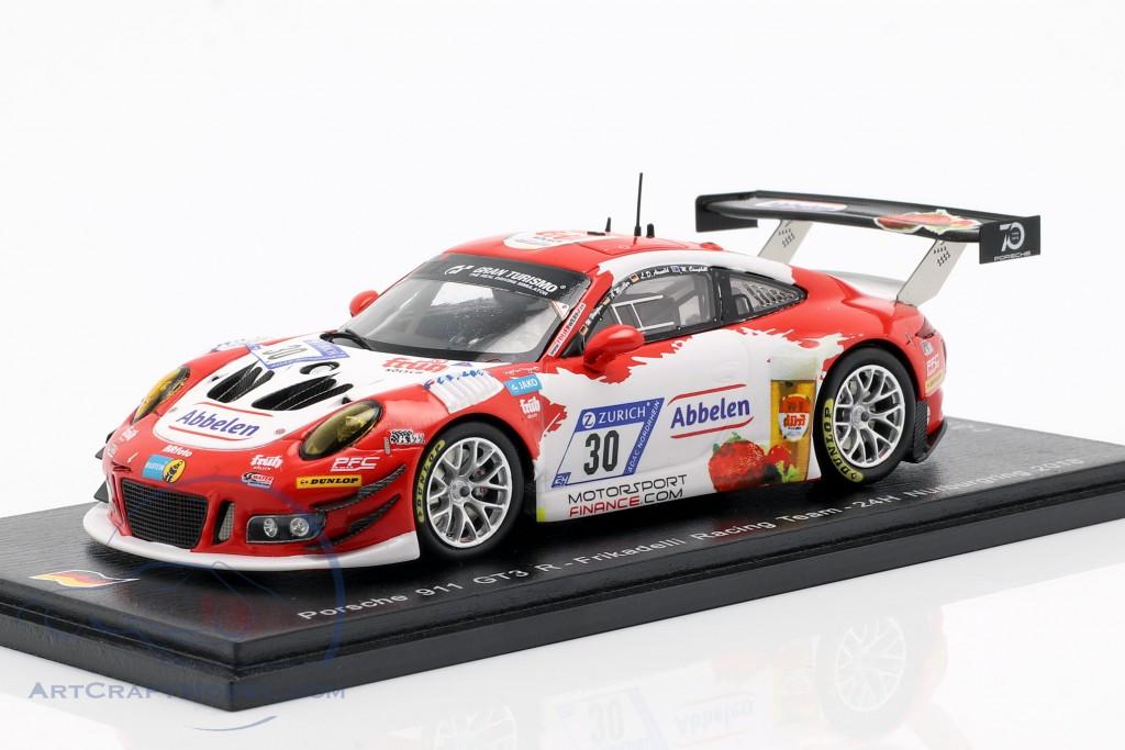 Porsche 911 (991) GT3 R #30 24h Nürburgring 2018 Frikadelli Racing
