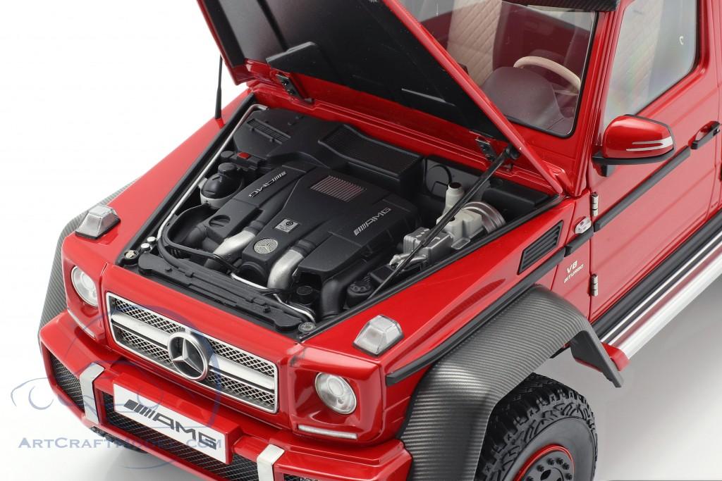 Mercedes Benz G63 Amg 6x6 Year 2013 Red 76304 Ean 674110763041
