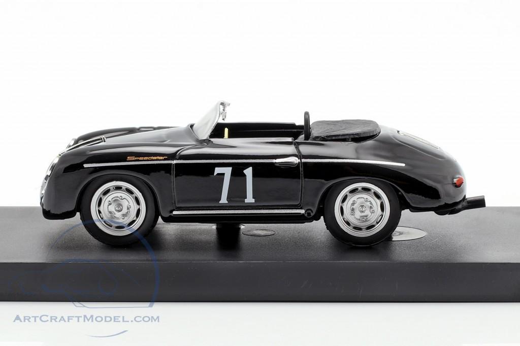Porsche 356 Speedster #71 Riverside 1959 Steve McQueen 1:43 Model BRUMM