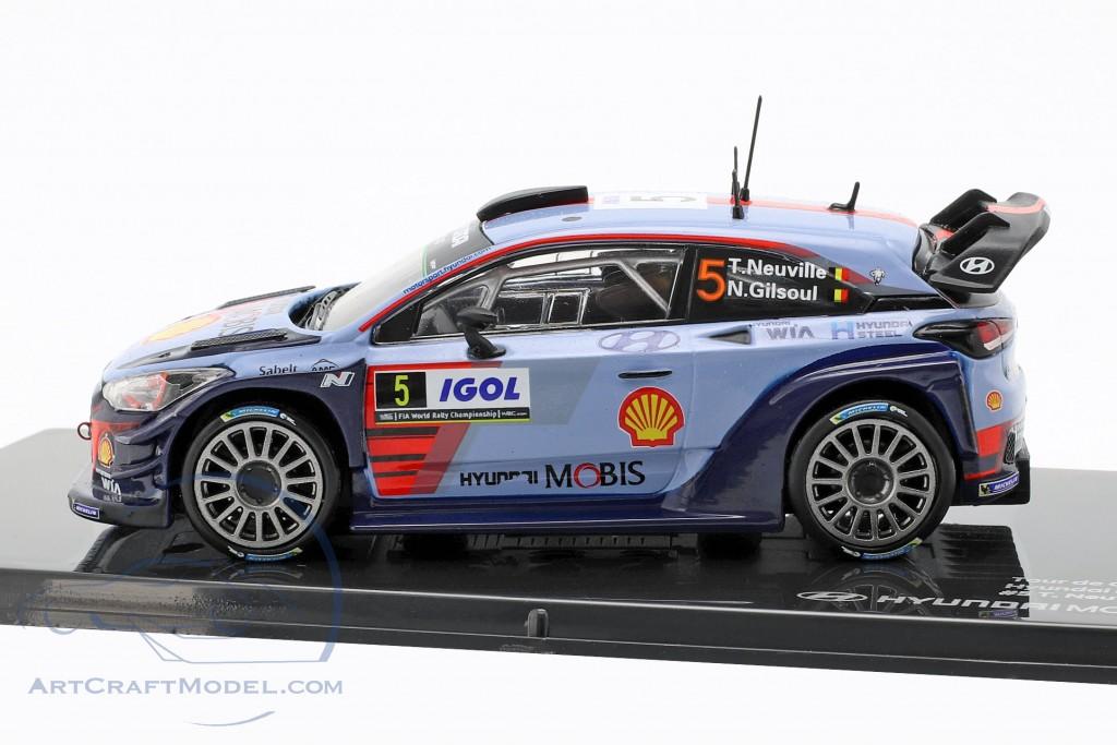 Gilsoul 1:43 Hyundai i20 Coupe WRC #5 Winner Rallye Tour de Corse 2017 Neuville