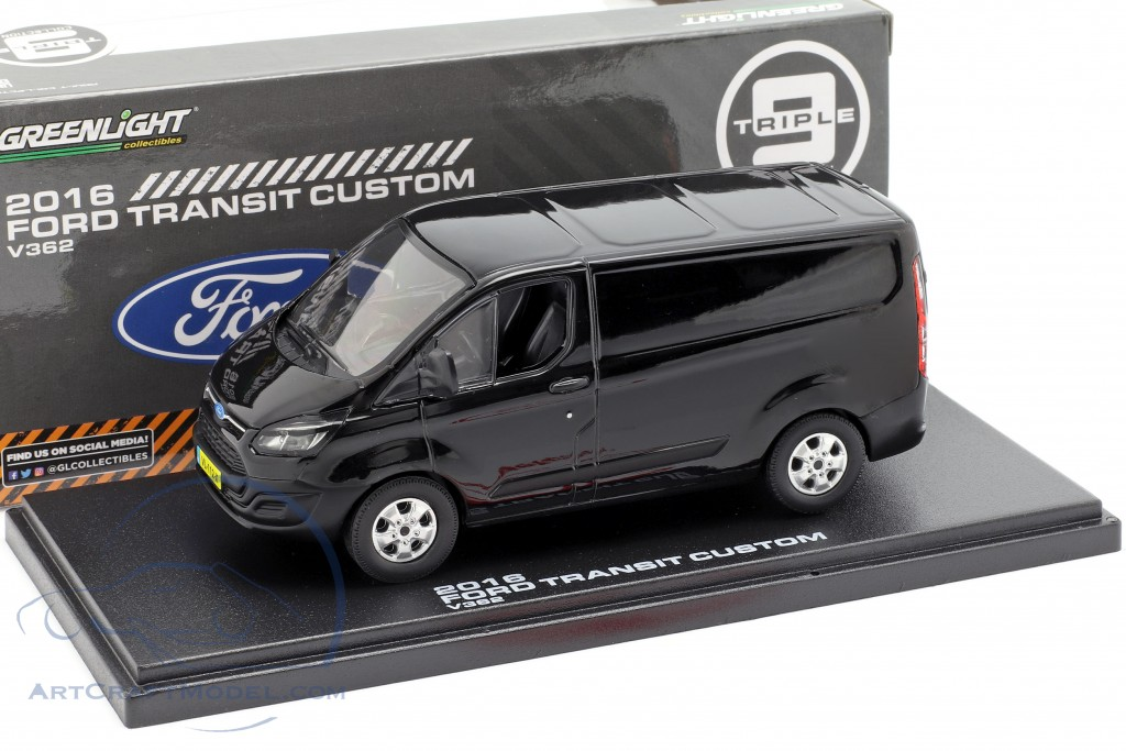 Ford Transit Custom V362 year 2016 black