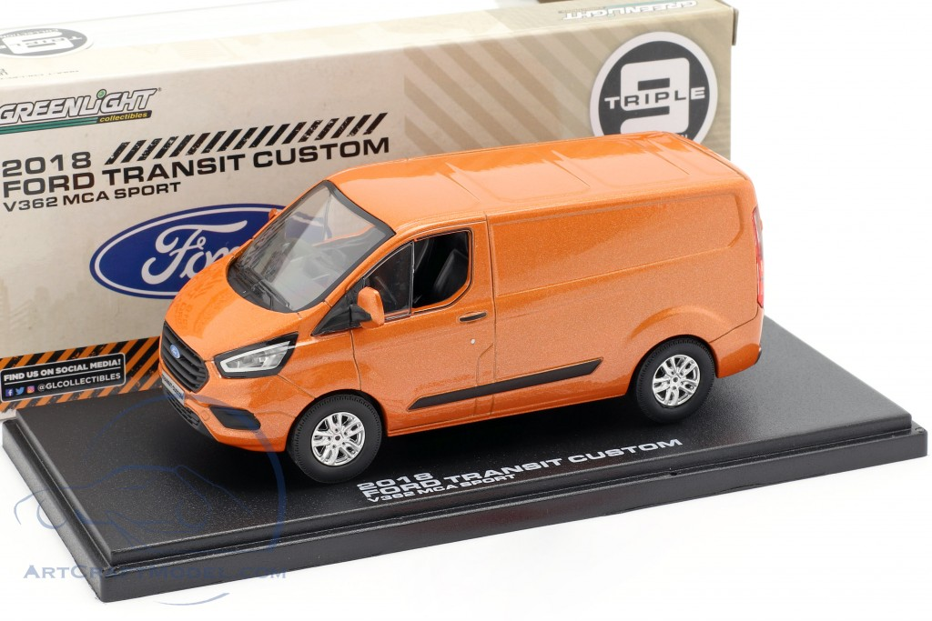 Ford Transit Custom V362 MCA Sport year 2018 orange metallic