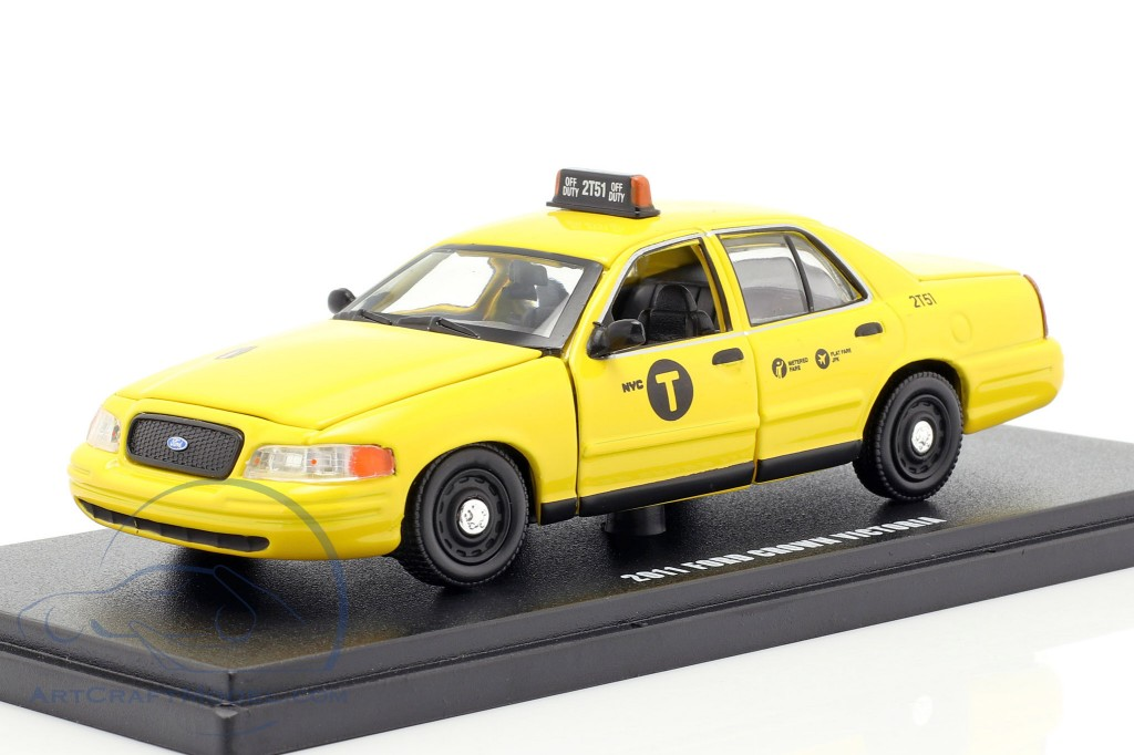 Ford Crown Victoria NYC taxi year 2011 yellow