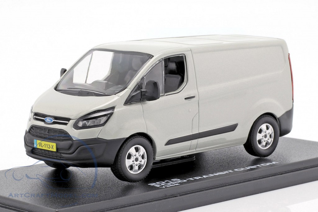 Ford Transit Custom V362 year 2016 silver metallic