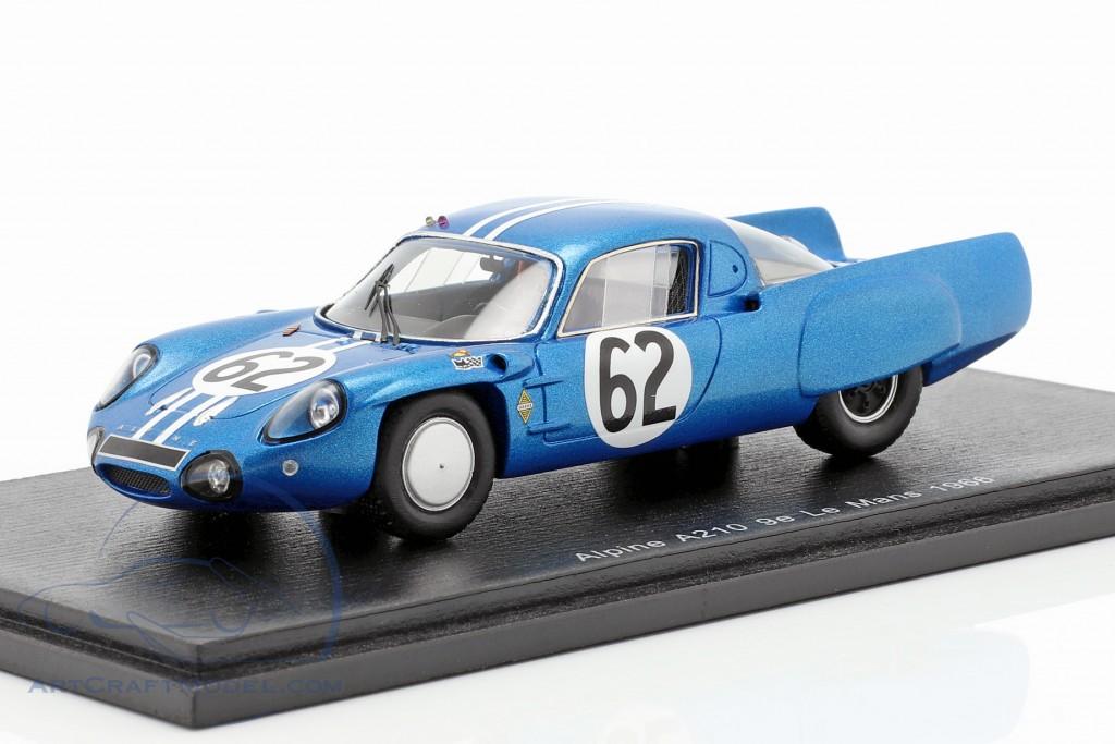 Alpine A210 #62 Class Winner 24h LeMans 1966 Grandsire, Cella