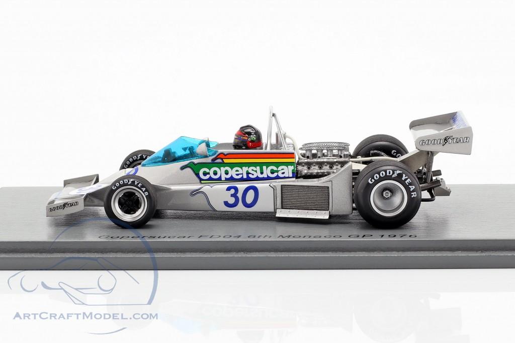 Emerson Fittipaldi Copersucar FD04 #30 6th Monaco GP formula 1 1976