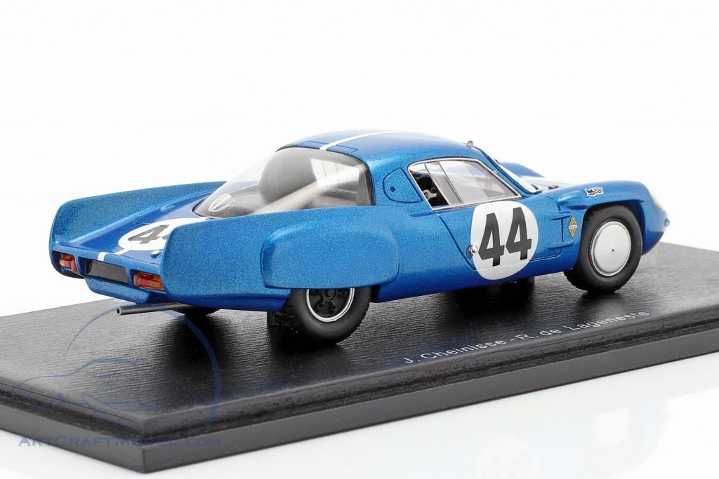 Alpine A210 #44 24h LeMans 1966 J. Cheinisse, R.de Lageneste