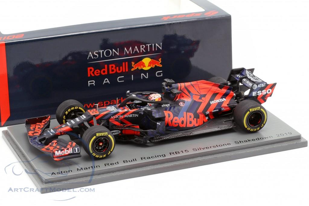 Max Verstappen Red Bull Racing RB15 #33 Silverstone Shakedown F1 2019