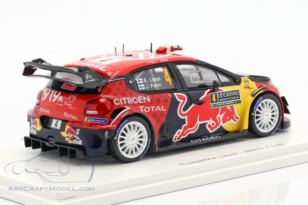 Citroen C3 WRC #4 Rallye Monte Carlo 2019 Lappi, Ferm