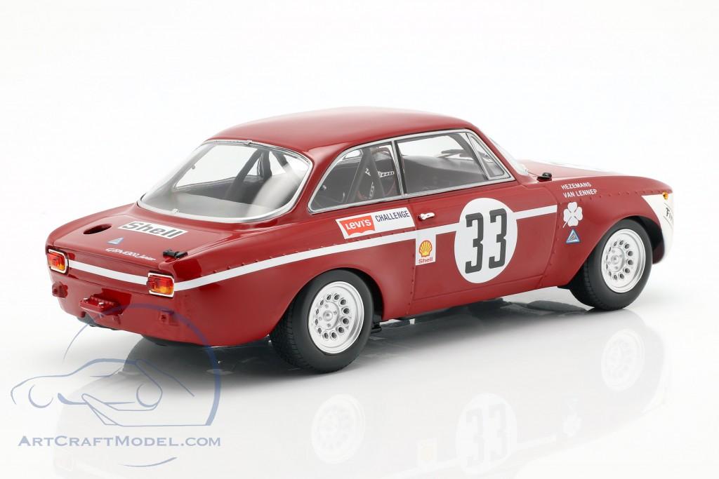 Alfa Romeo GTA 1300 Junior #33 Winner Div 1 4h Jarama 1972