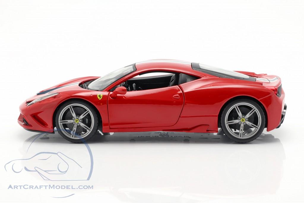 Ferrari 458 Speciale Red White Blue 18 16002r Ean 4893993160020