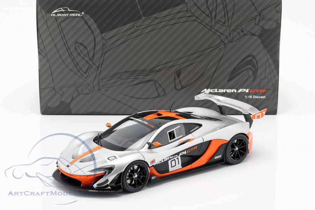 Mclaren P1 Orange >> Mclaren P1 Gtr Concept Car 2015 Black Orange Silver