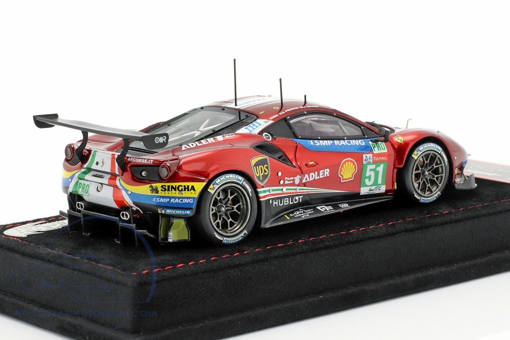 Ferrari 488 GTE #51 24h LeMans 2018 Calado, Pier Guidi, Serra  BBR