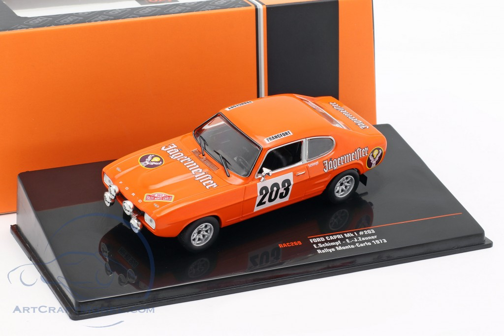 Ford Capri MK I #203 Rallye Monte Carlo 1973 Schimpf, Zauner