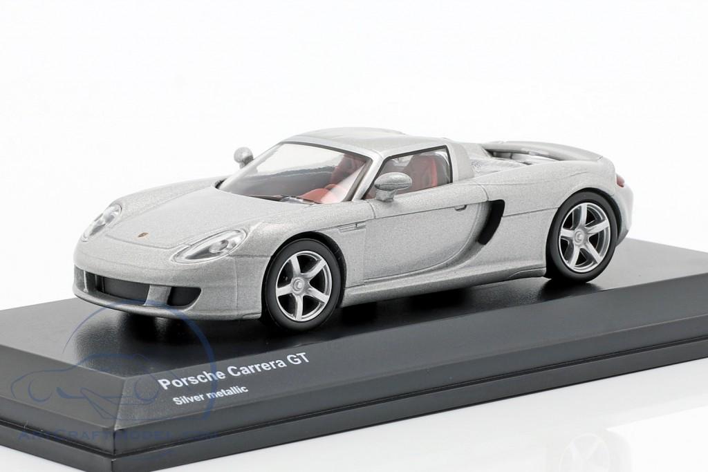 Porsche Carrera GT silver metallic