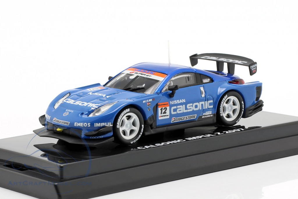 Nissan Fairlady Z #12 Super GT Series 2007 Hoshino, Treluyer, Dufour