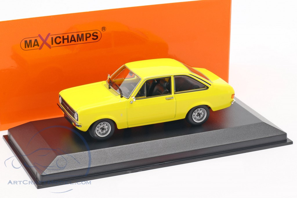 Ford Escort year 1975 yellow