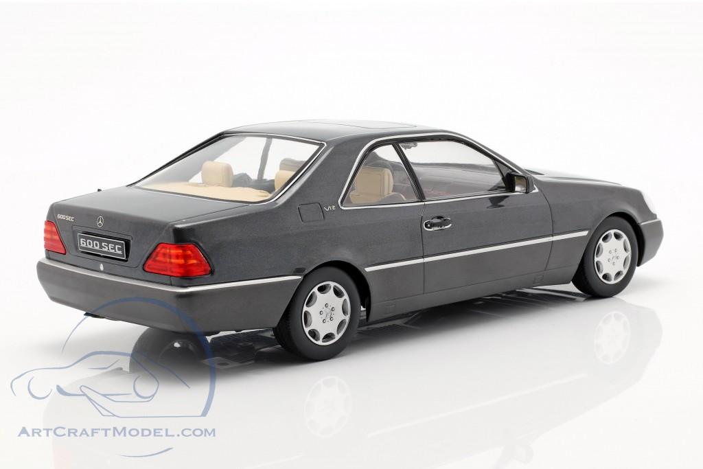 Mercedes-Benz 600 SEC (C140) year 1992 anthracite