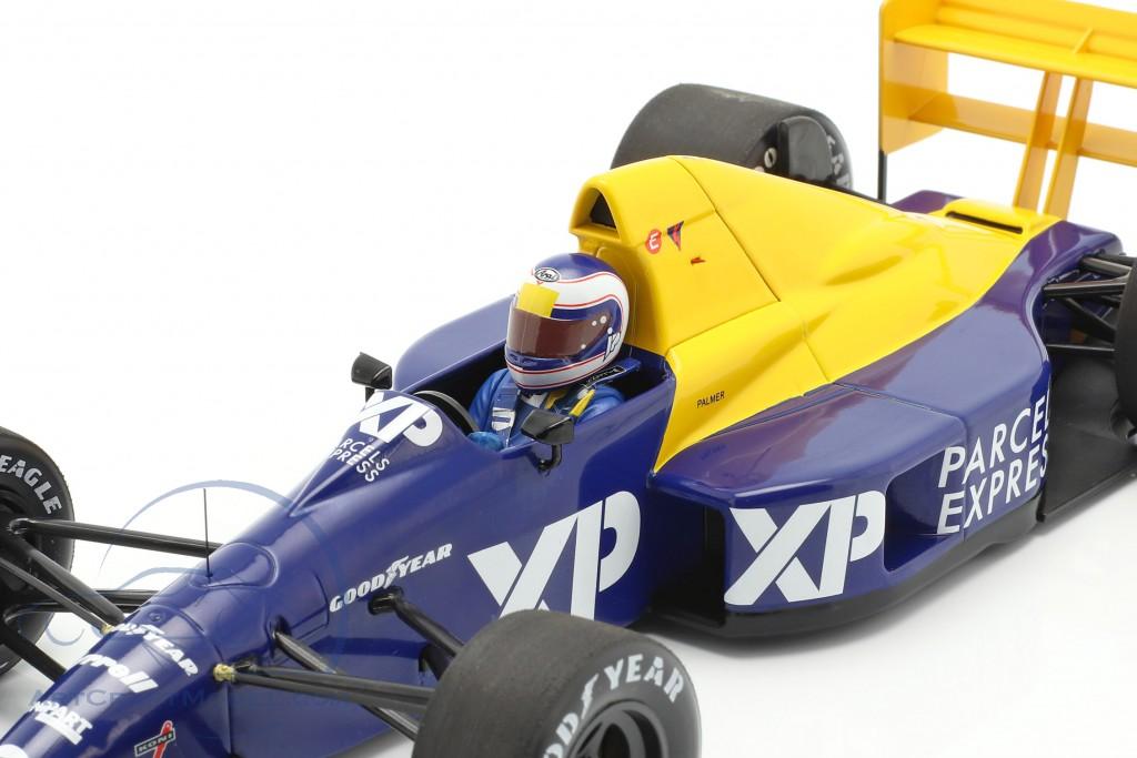 Jonathan Palmer Tyrrell 018 #3 French GP formula 1 1989