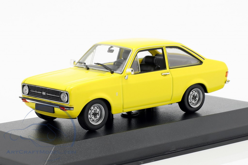 Ford Escort year 1975 yellow