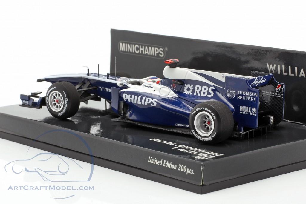 Rubens Barrichello Williams FW32 #9 formula 1 2010