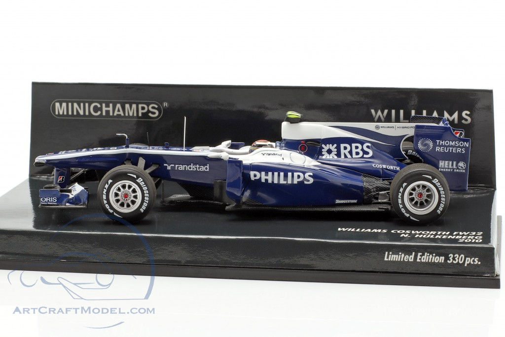 Nico Hülkenberg Williams FW32 #10 formula 1 2010