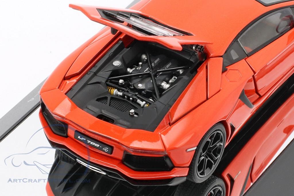 Lamborghini Aventador Lp 700 4 2011 Orange Metallic 54647 Ean 674110546477