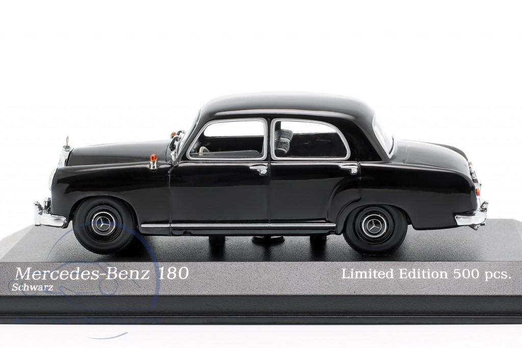 1955 grey MINICHAMPS Mercedes-Benz 180 W120 1:43 94003310
