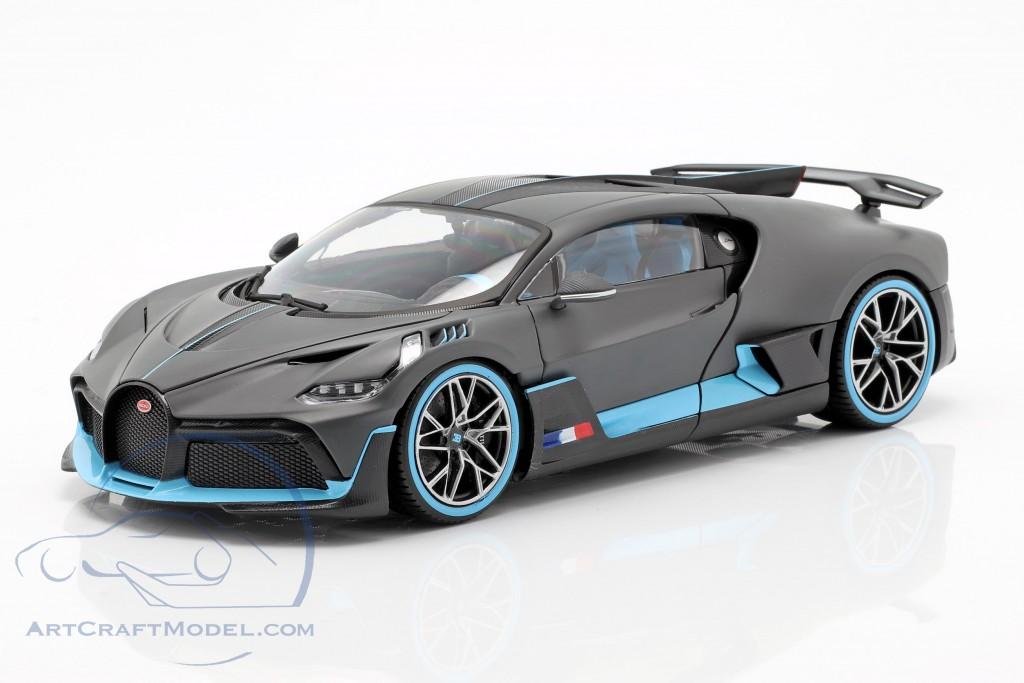 Bugatti Divo year 2018 mat grey light blue