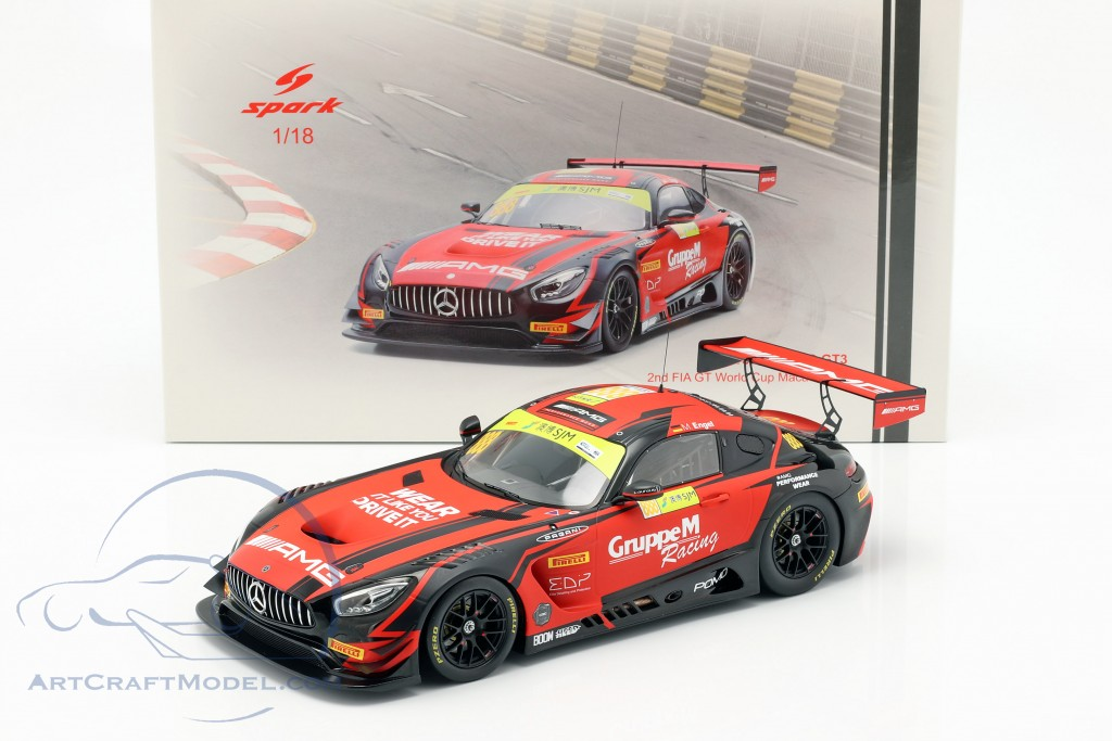 Mercedes-Benz AMG GT3 #888 2nd FIA GT World Cup Macau 2018 M. Engel
