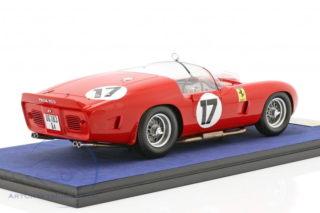 Ferrari 250 TRI/61 #17 24h LeMans 1961 P. Rodriguez, R. Rodriguez with showcase