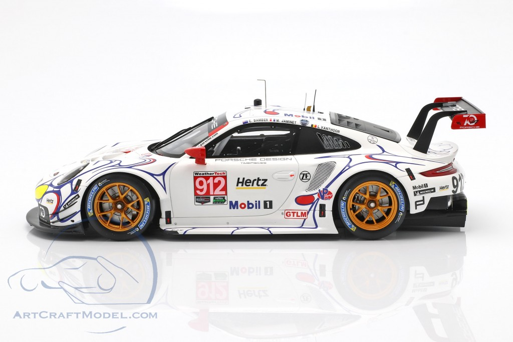 Porsche 911 RSR #912 Petit LeMans 2018 Porsche GT Team