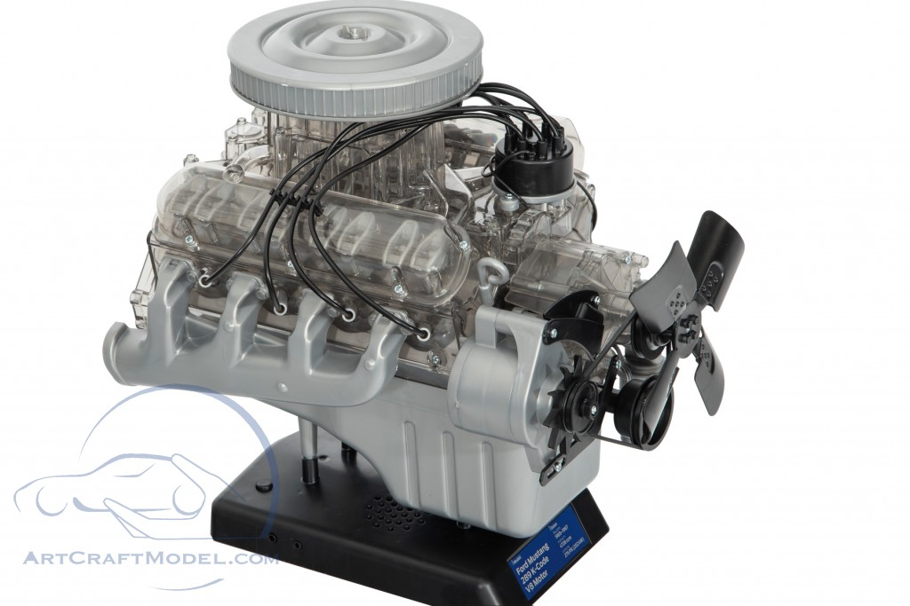 Ford Mustang V8 engine year 1965 kit