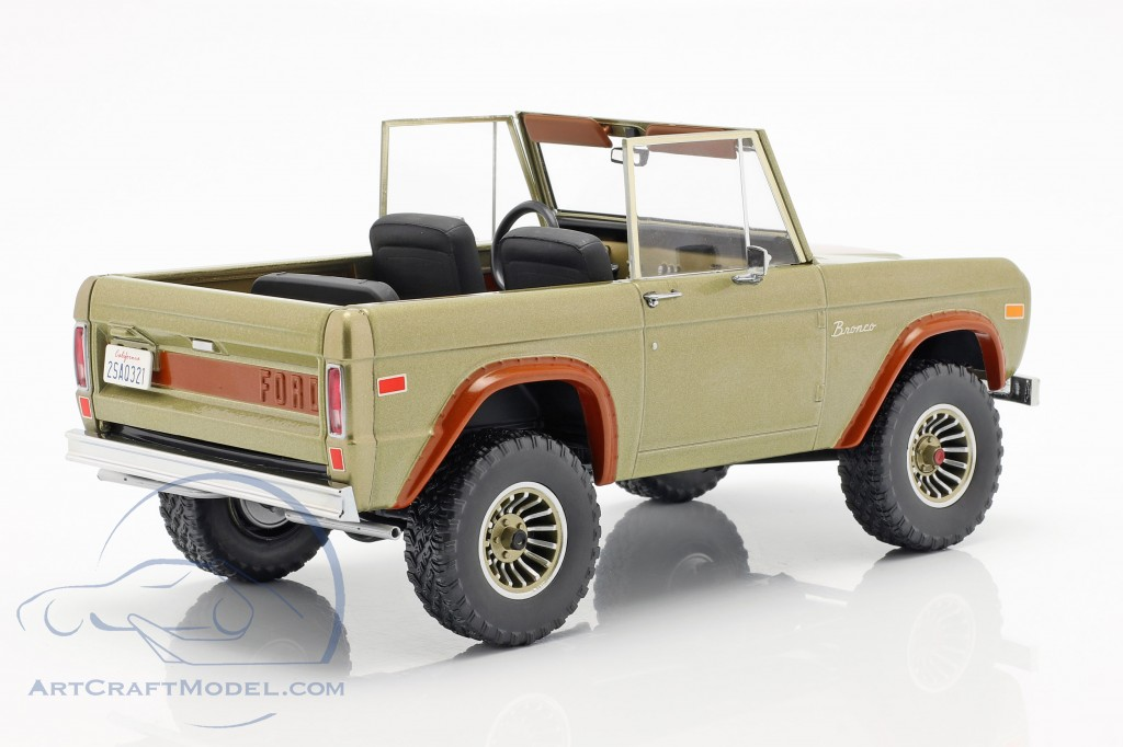 Ford Bronco year 1970 TV series Lost (2004-2010) brown
