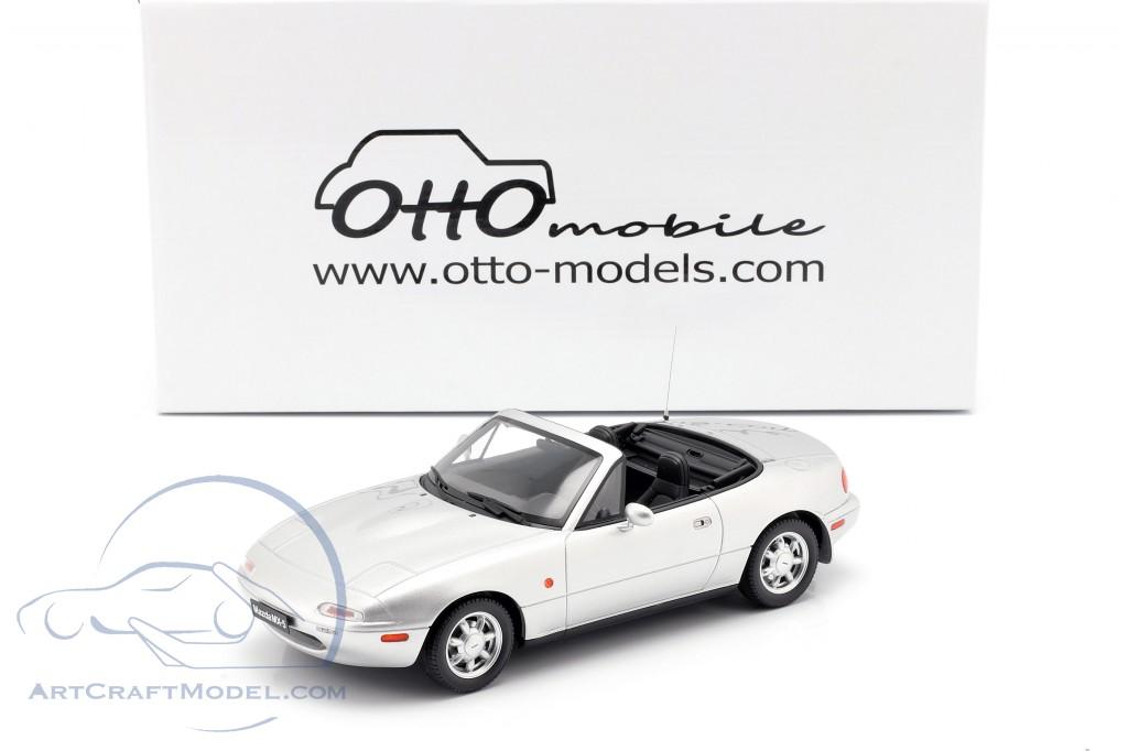 Mazda MX-5 year 1990 Silverstone silver  OttOmobile