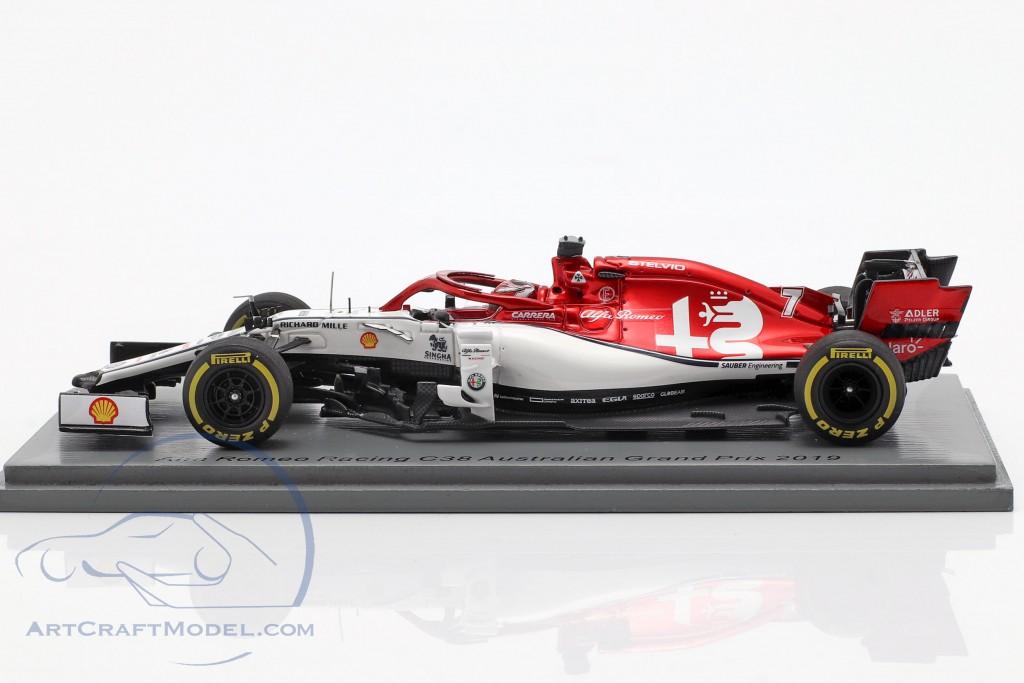 Kimi Räikkönen Alfa Romeo Racing C38 #7 Australian GP F1 2019