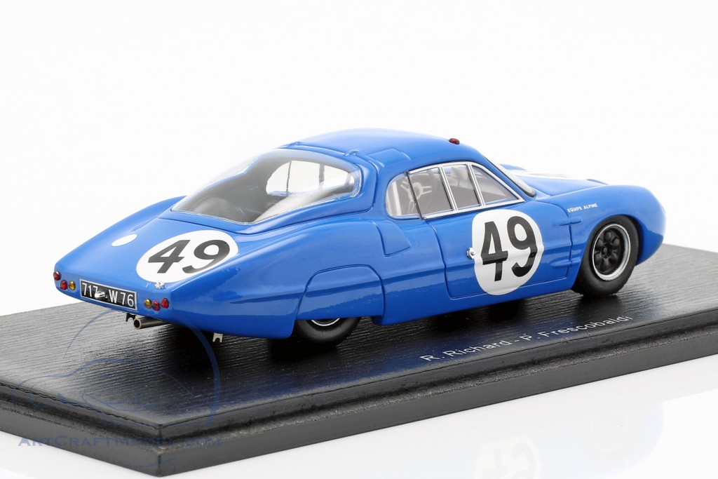 Alpine M63 #49 24h LeMans 1963 Frescobaldi, Richard