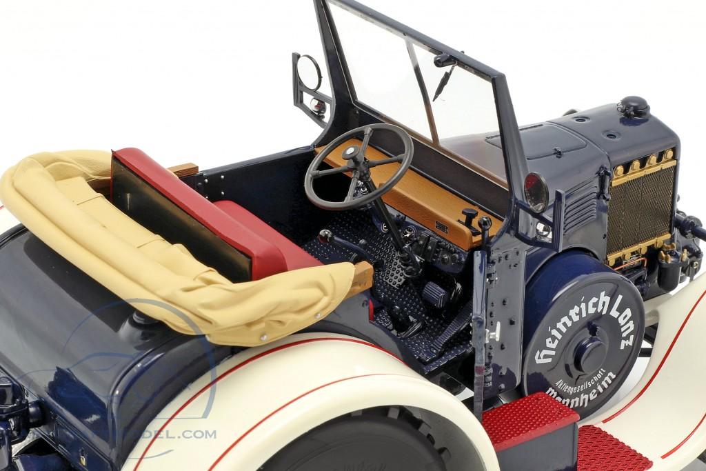 Lanz Eilbulldog tractor blue / white