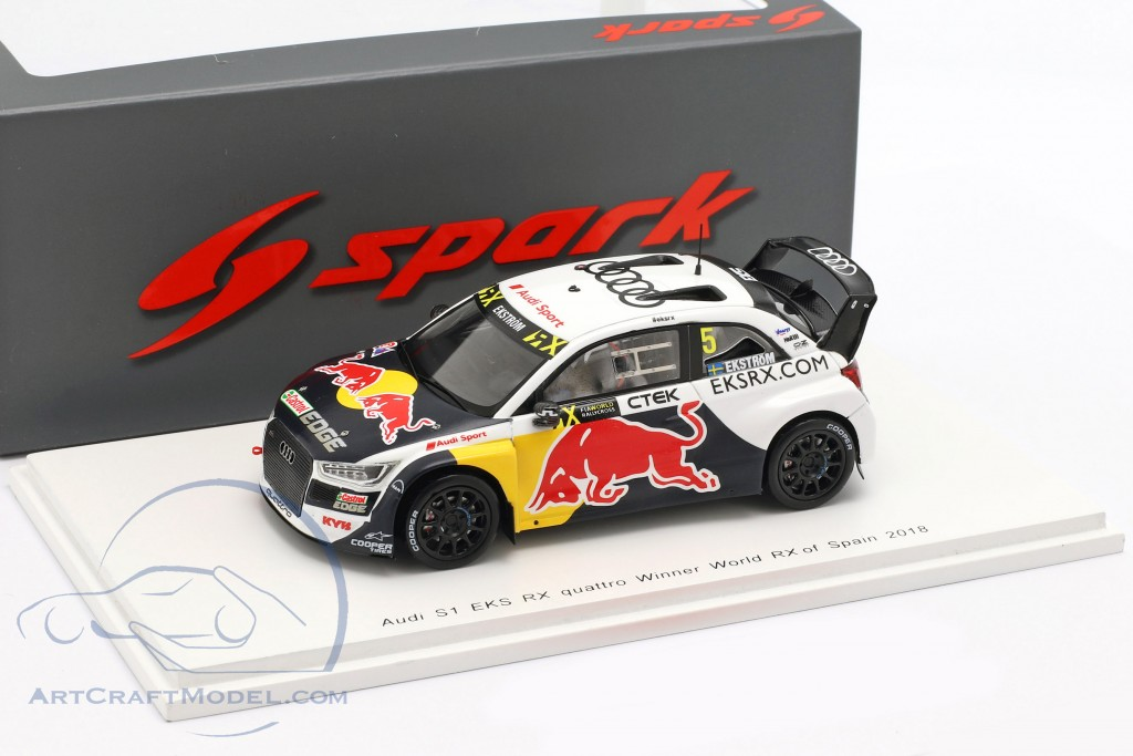 Audi s1 RX Quattro Mattias Ekström WRX rallycross españa 2018 1:43 Spark nuevo