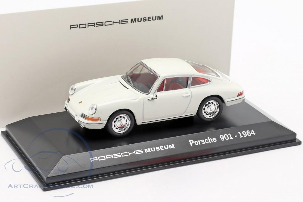 Porsche 901 Year 1964 white Porsche Museum Edition