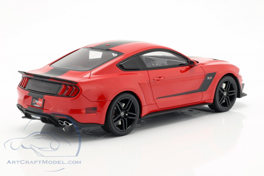 Roush Stage 3 Mustang year 2019 red / black