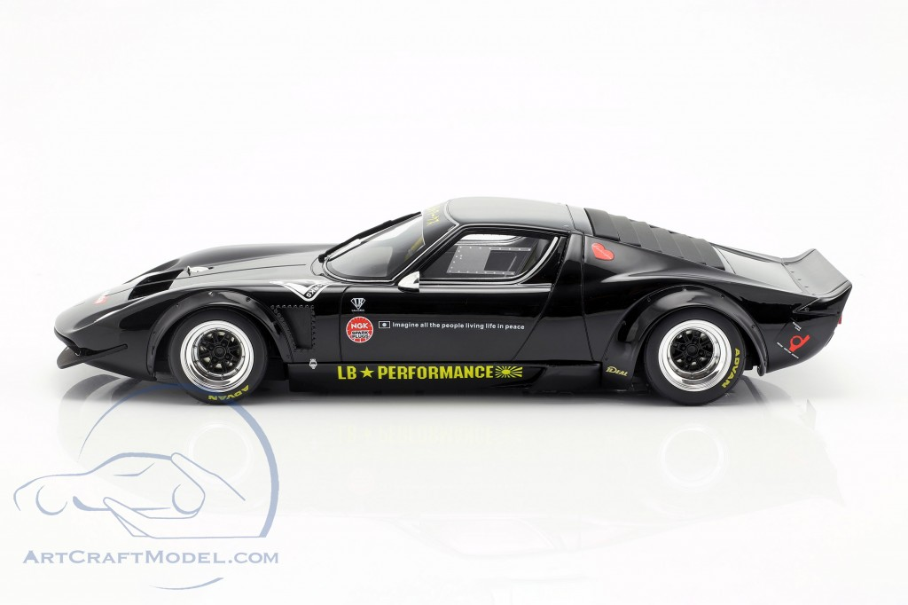 Lamborghini Miura LB-Works year 2018 black