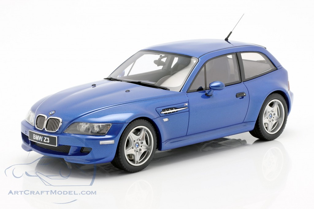 BMW Z3 M Coupe 3.2 year 1999 estoril blue 1:18 OttOmobile