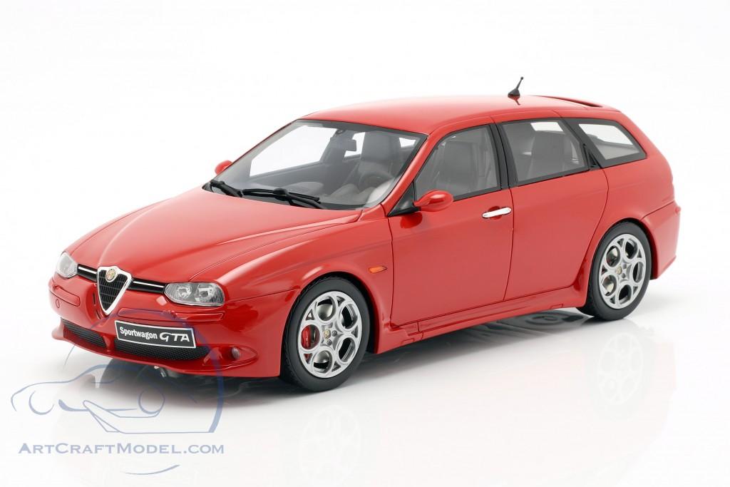 Alfa Romeo 156 GTA Sportwagon year 2002 red