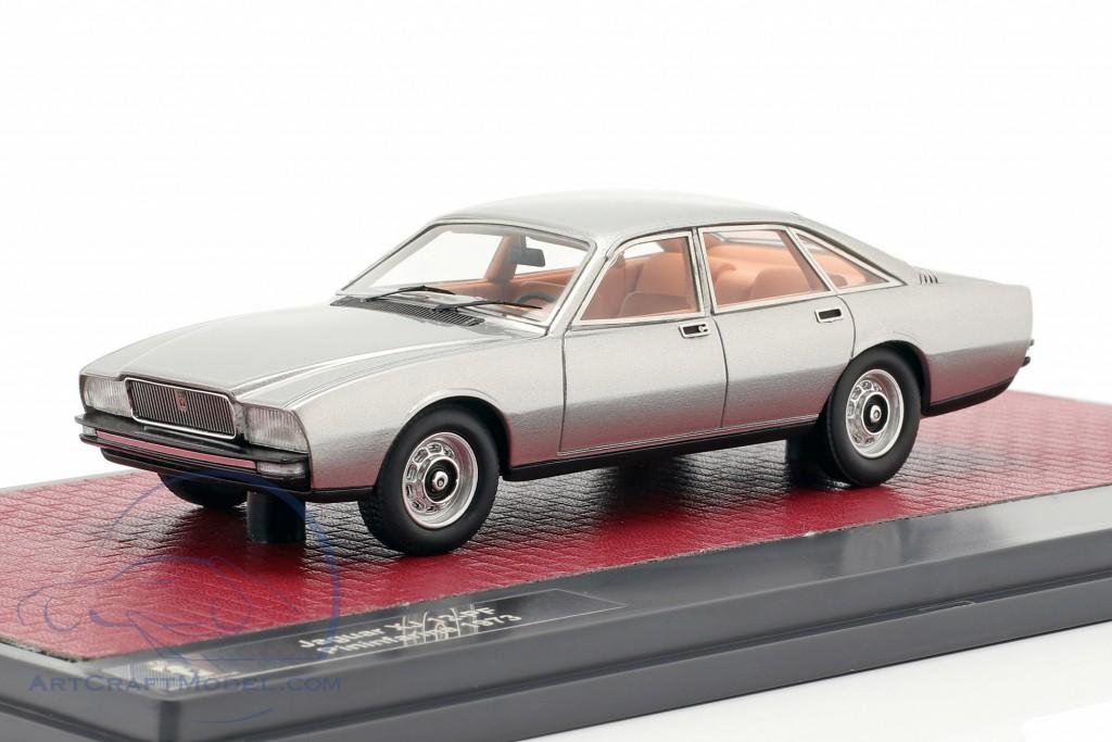Jaguar XJ 12-PF Pininfarina year 1973 silver metallic 1:43 Matrix