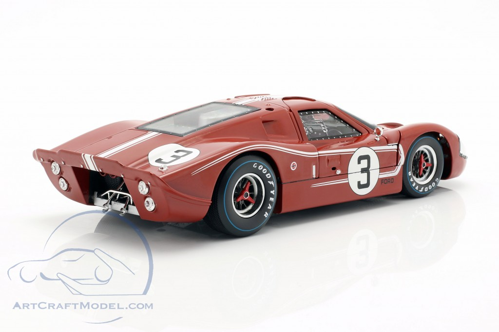 Ford GT40 MK IV #3 24h LeMans 1967 Andretti, Bianchi